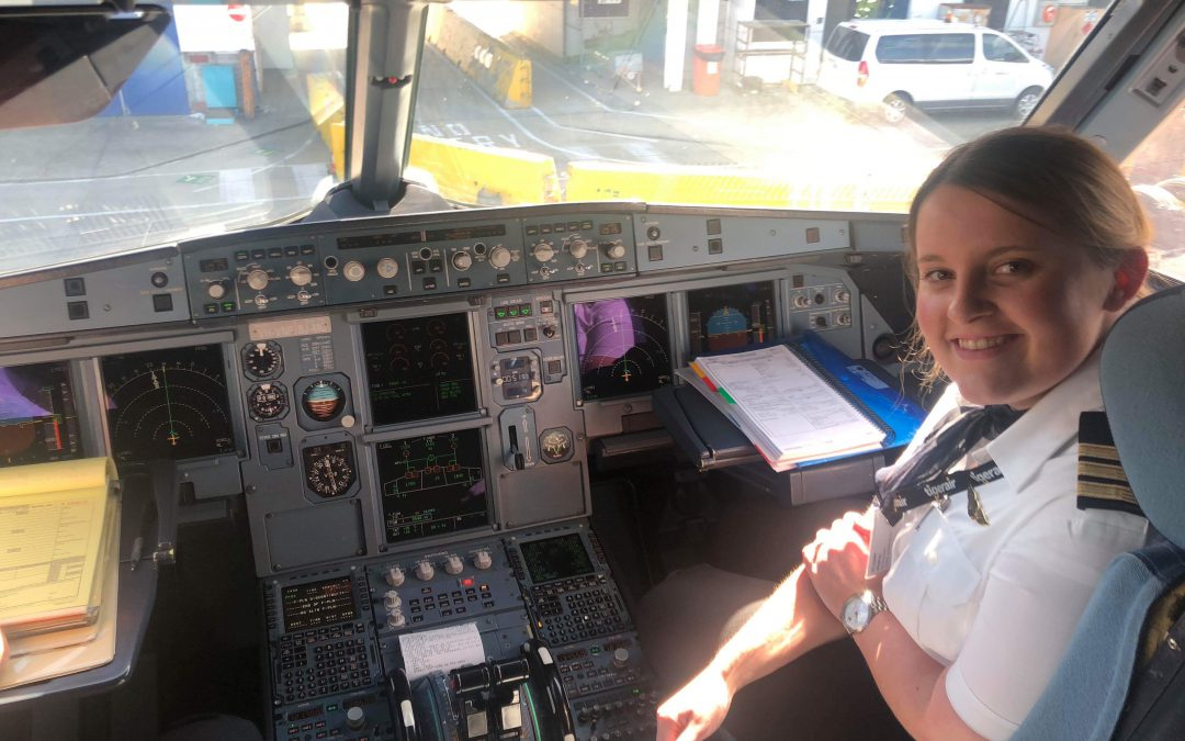 Where are they now? Alumni Meg O'Leary flying high
