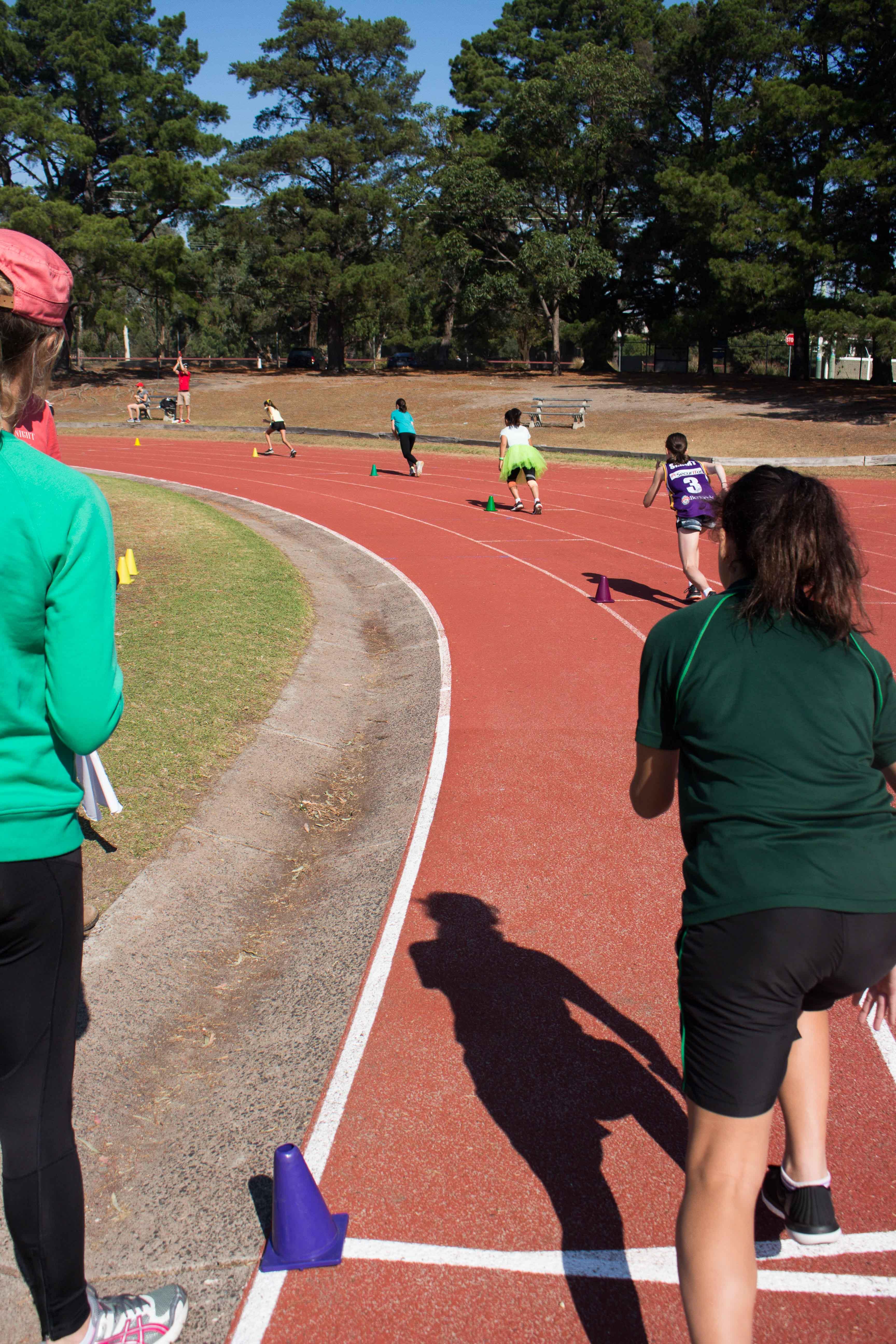 400m starting line