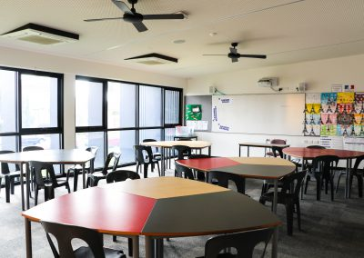 yr 7 & 8 classroom